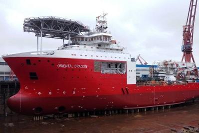 飽和潛水支持船「海龍」號交付,作業能力國內最強