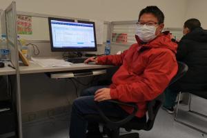 中山三院医疗队临床营养科主任 卞华伟