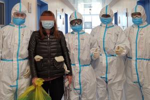 中山大學附屬第三醫院馳援武漢醫療隊康復科護士 陳玉蓉