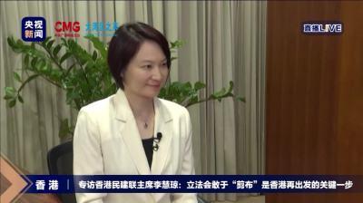 李慧瓊再度當選香港特區立法會內務委員會主席