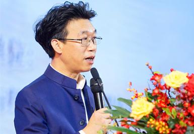蔣安祥在2019中國傳統文化尊享會上做大會主題演講
