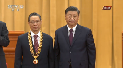習近平為國家勳章和國家榮譽稱號獲得者頒授勳章獎章