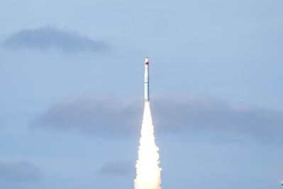 一箭九星 長征十一號火箭實現中國首次海上商業化應用發射