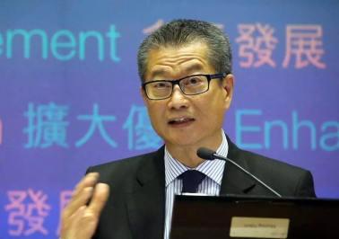 陳茂波:香港要鎖定正確方向與大灣區兄弟城市共同發展