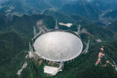 中國天眼FAST獲重大成果 明年將向世界開放