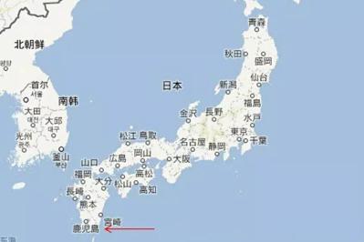 日本鹿兒島縣周邊頻發小規模地震 已「震」逾200次